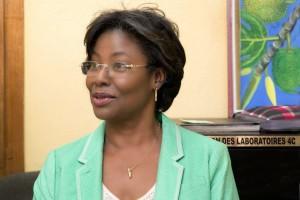 Madame Margaret Acra, PDG des Laboratoires 4C